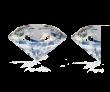 1 and half diamonds